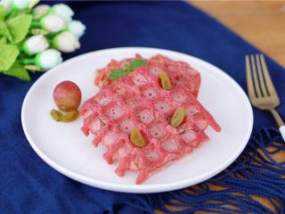 火龙果华夫饼,营养
