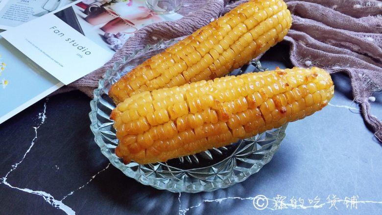 奶香烤玉米