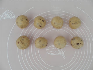 华夫饼(发酵版),滚圆。
