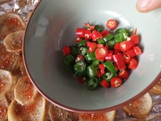 香辣孜然土豆片烤箱版,青红椒