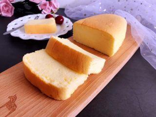 轻乳酪芝士蛋糕,成品