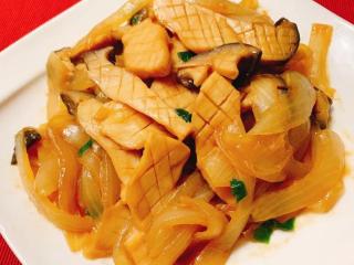 味噌酱烧杏鲍菇,待酱汁收乾,味噌酱烧杏鲍菇就完成啦!