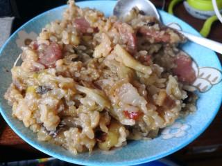 土豆茄子双肉焖饭