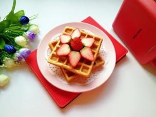 早餐华夫饼,当下午茶也是很不错的选择哦!