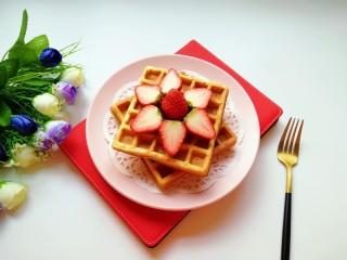 早餐华夫饼,准备好!