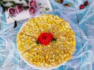 黄金玉米烙,成品图