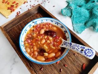 红豆花生燕麦粥,敏茹意作品~红豆花生燕麦粥~成品图