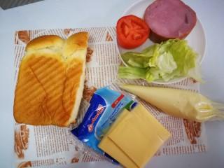 三明治~快手早餐,食材先准备好