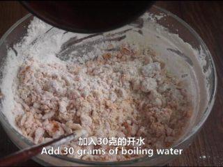 一根香蕉,一碗糯米粉,一块地瓜,就能做出美味的红薯香蕉糯米饼,加开水