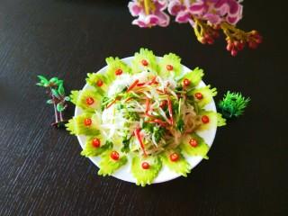 白萝卜香辣凉拌菜   新文美食,成品图