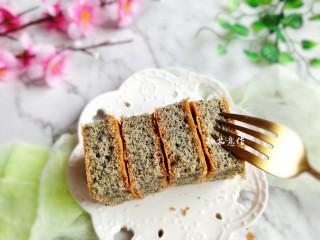 黑米海绵蛋糕,敏茹意作品……黑米海绵蛋糕……成品图
