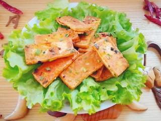 脆皮豆腐(煎豆腐),开吃