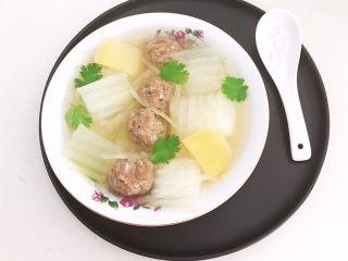清炖冬瓜牛肉丸