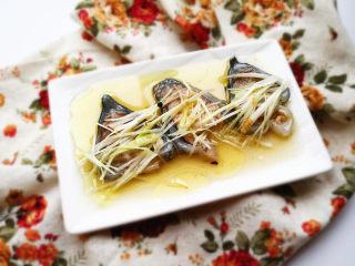 葱油海参斑,就可以上桌啦。