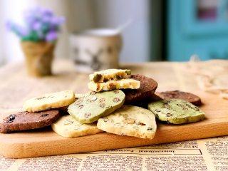 黄油饼干,掰开看看,酥松可口哦!