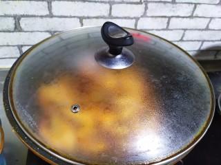 油焖大虾,焖两分钟