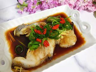 清蒸鳕鱼,鲜美嫩滑无比