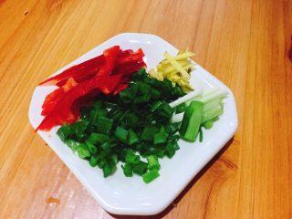 茄汁黄花鱼,再准备配料