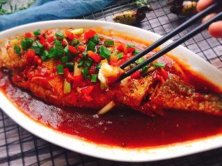 茄汁黄花鱼,成品图