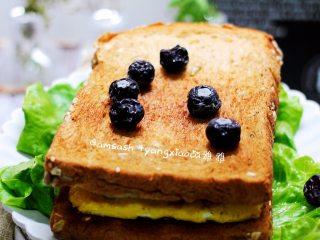 早餐三明治,成品图