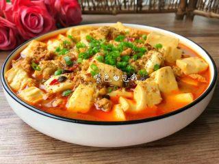 麻婆豆腐,成品图二