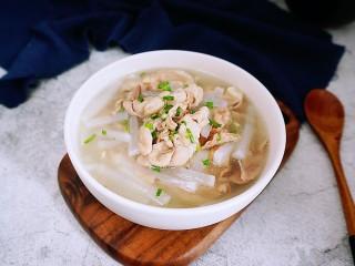 简单快手的萝卜羊肉汤,简单快手的羊肉汤就完成啦!