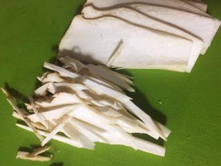馄饨&水饺,切丝