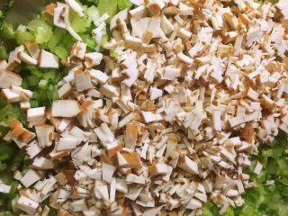 馄饨&水饺,搅拌均匀