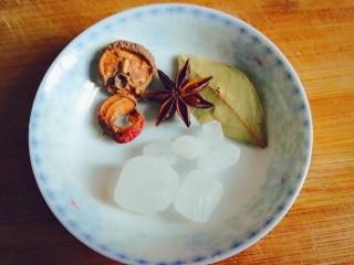 排骨炖土豆,山楂,八角,香叶,冰糖
