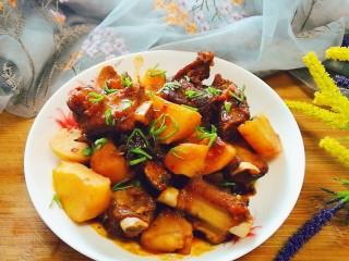 排骨炖土豆,好香