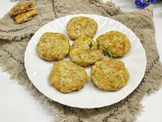 鸡胸蔬菜饼