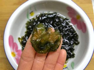 地皮菜炒鸡蛋,这个就是地皮菜,也叫地木耳,有好多不同的叫法,看上去和木耳很像,颜色呈橄榄绿色,半透明,但比木耳更软更滑。