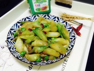 豆瓣酱炒儿菜
