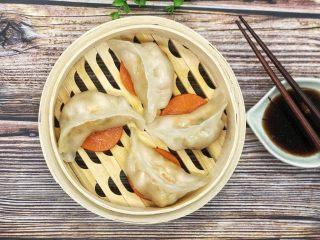 水晶虾饺,成品图。