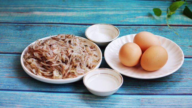 雪虾鸡蛋饼 (宝宝补钙佳品),主要食材:雪虾、<a style='color:red;display:inline-block;' href='/shicai/ 9'>鸡蛋</a>、醋、盐。