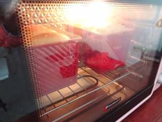 淡奶油吐司,10.放入预热好的烤箱180度40分钟上色盖锡纸出炉晾凉