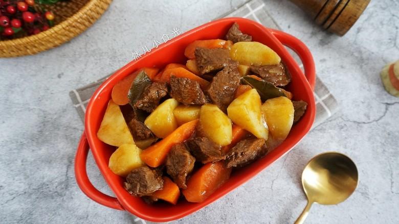 红酒土豆炖牛腩