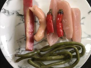泡菜鸡胗,根据自己的喜好取适量四川泡菜(喜欢吃泡菜的可以多一点,反之就少加一点)