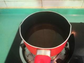 豌豆炒腊肠,这时来烧一锅水