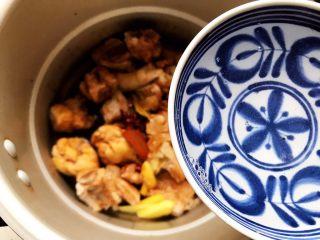 红烧排骨鸡翅根(高压锅懒人版),加一小碗清水