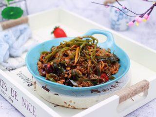 肉末海带炒粉条,米饭的杀手。