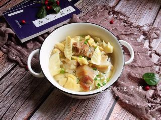 腌笃鲜——属于春的美味,完成。