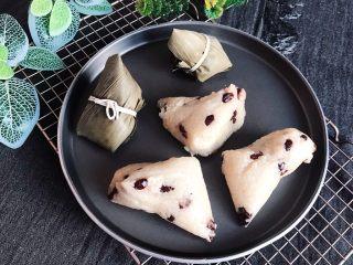 蜜豆糯米粽子