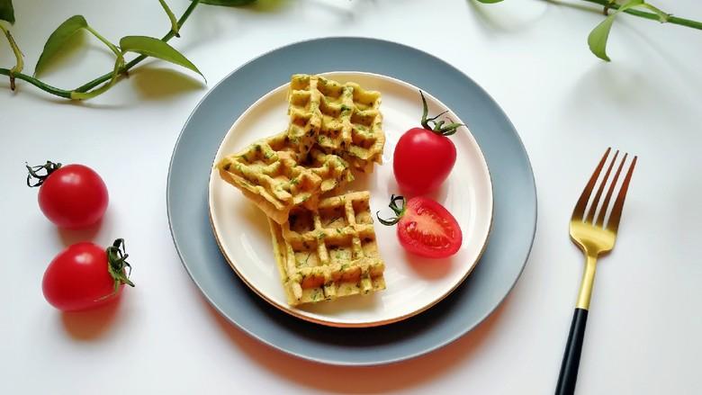 华夫鸡蛋饼,营养丰富的早餐随手就来。