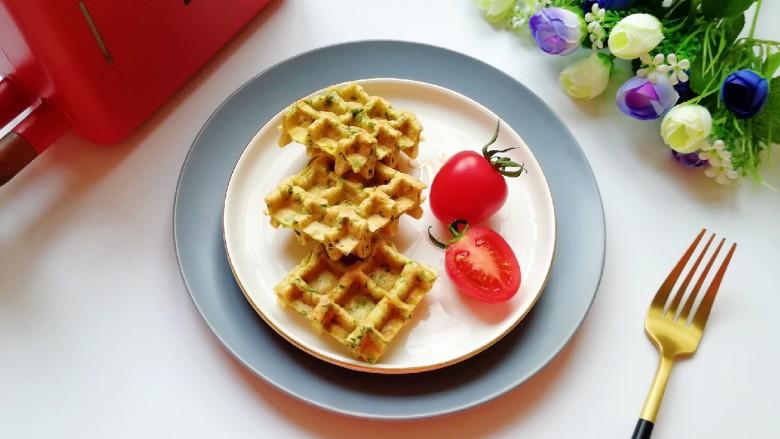 华夫鸡蛋饼,即使厨房小白也能轻松搞定。