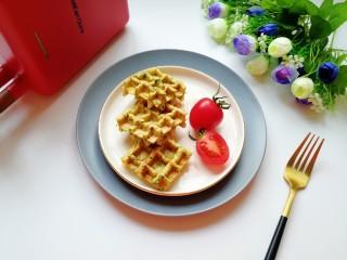 华夫鸡蛋饼,早餐一定要吃好。
