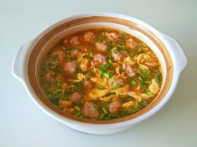 名厨私房菜  番茄猪肉丸子