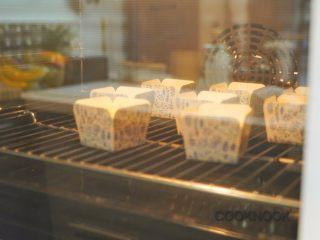 北海道芝士奶油杯子蛋糕,140C 烤15分钟, 150C烤10分钟