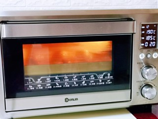 孜然烤琵琶鸭腿,上管190°,下管185°烤15-20分钟。(时间及温度仅供参考)