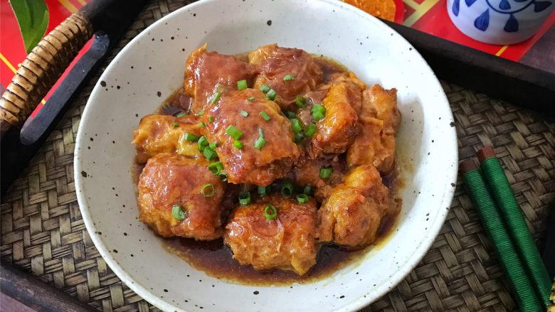 豆腐衣肉卷